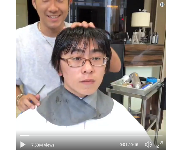 Shibuya stylist transforms nerdy-looking man into handsome guy with a trendy makeover【Video】