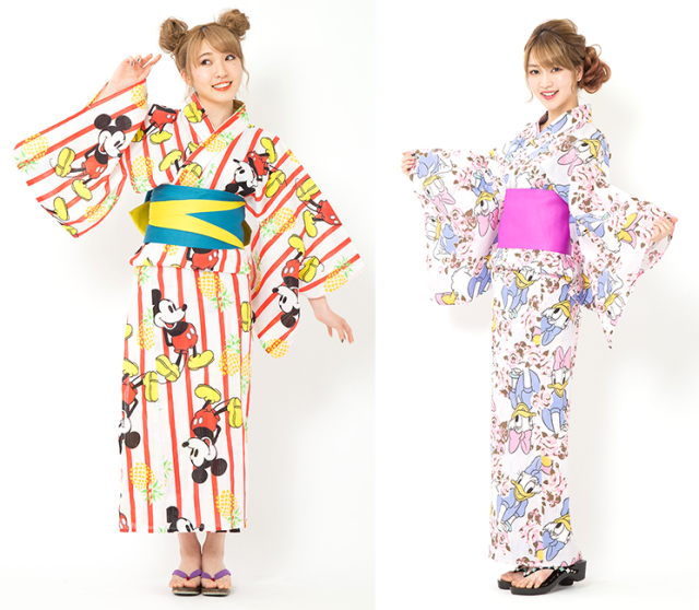 New Disney summer kimono are beautifully cute and require no sash tying【Photos】