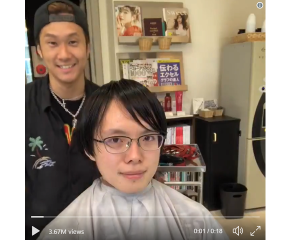 Tokyo miracle hairstylist returns with new geek-to-chic video, plus how to have him cut your hair