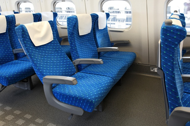 "Shinkansen: ""Seats can be quickly used as shields in the event of an attack"""