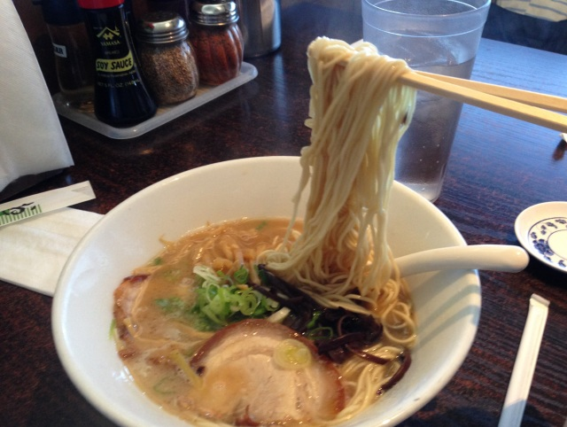 Some of the most delicious ramen I've had in months…is at a restaurant in Las Vegas?!?