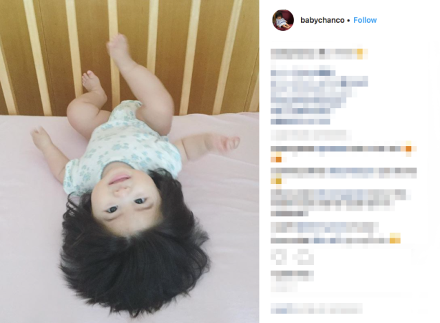 Baby Chanco: The Japanese baby with a full head of thick, lustrous hair