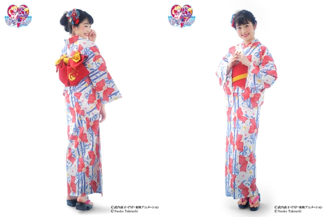 Sailor Moon yukata kimono line will keep you breezy and beautiful in the Japanese summer heat