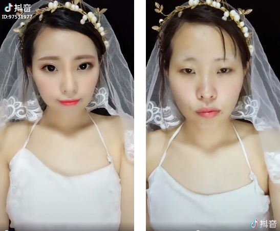 Chinese Girl Makeup Removal