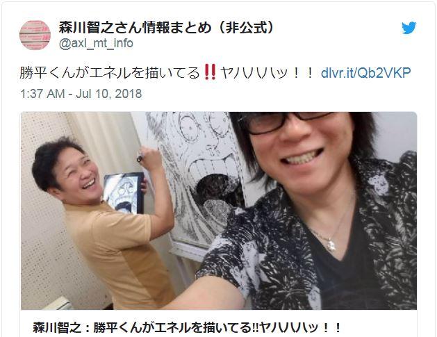 Veteran anime voice actor Kappei Yamaguchi displays hidden artistic talent… yet again!