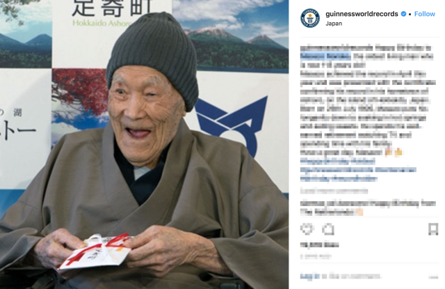 Oldest man in the world celebrates his birthday following recognition from Guinness World Records
