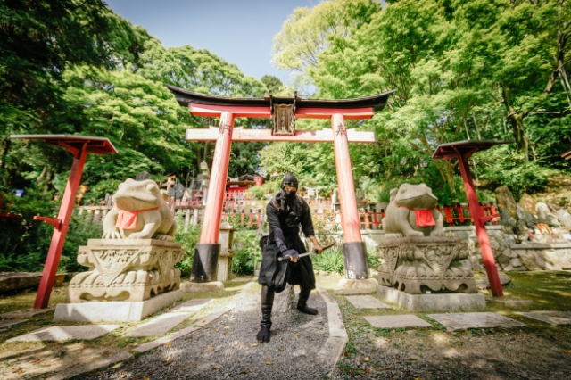 Kyoto Ninja Run tour can add over 100 ninja missions to your itinerary if you're tired of temples