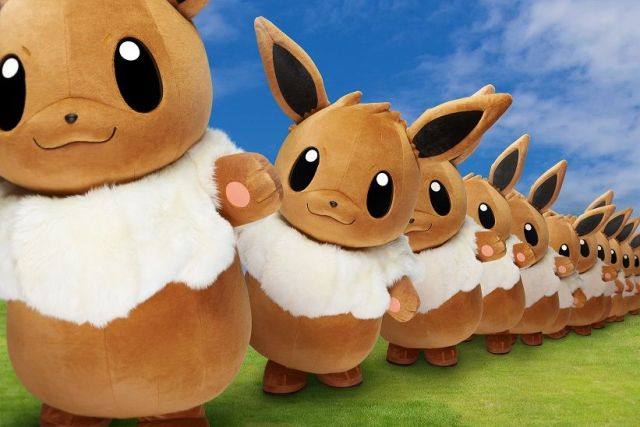 Pikachu Outbreak 2018: World's first Eevee march to join Pokémon summer celebrations in Japan!