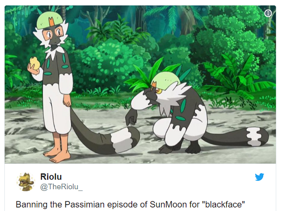 Pokémon anime TV episode will not air in U.S., blackface concerns assumed to be reason why