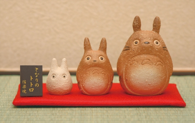 New Totoro merchandise combines cute anime with ancient Japanese pottery traditions
