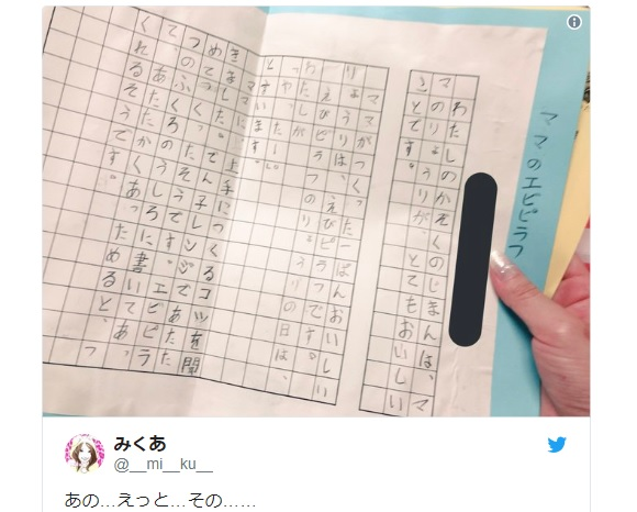 Japanese elementary school student's essay about mother's prawn pilaf is absolutely adorable