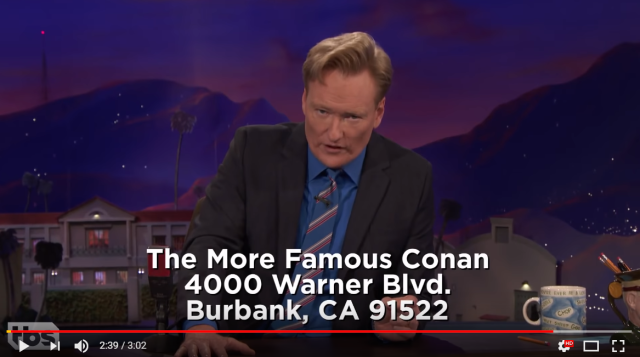 Conan O'Brien lays out his case that anime's Detective Conan is just a copy of him【Video】