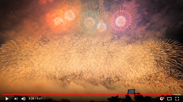 Amazingly beautiful animated fireworks show Japan's fireworks are on a whole other level【Videos】