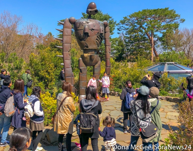 Looking for a job in Japan? Now you can work in the world of anime at the Ghibli Museum!