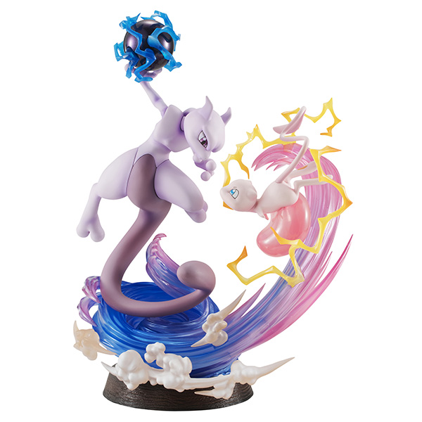 Jaw-dropping Pokémon figure recreates the climactic Mew vs. Mewtwo fight from 20 years ago【Pics】