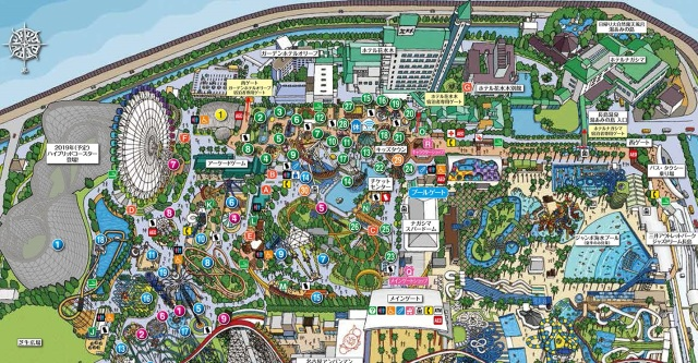 TripAdvisor reveals Japan's top ten theme parks