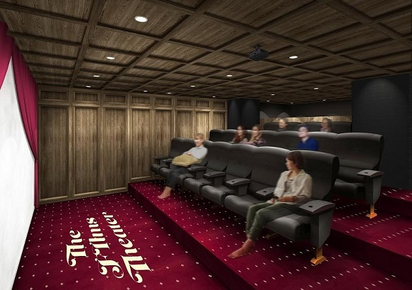 "New ""social apartment"" that comes with attached movie theater will open soon in Saitama"