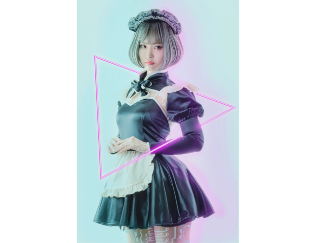 Stylishly sexy Cyber Maid uniform goes on sale in Japan, future looks bright, clean【Photos】