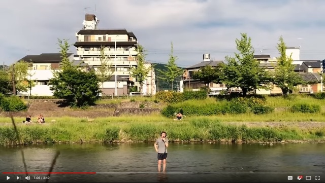 "Man gets dumped by girlfriend, sings ""Mamma Mia"" in post-breakup music video recorded in Kyoto"