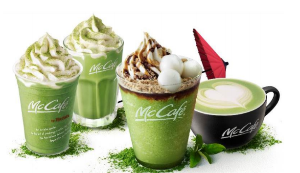 New marvelous McDonald's matcha dessert drinks have more Kyoto green tea powder than ever before