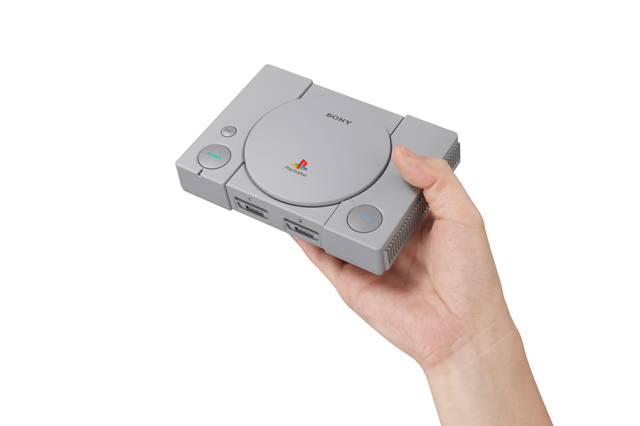 Sony announces PlayStation Classic retro mini console【Video, photos】