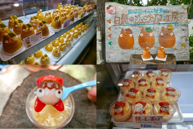 Studio Ghibli Ponyo dessert now available at Shirohige's Cream Puff Factory in Tokyo