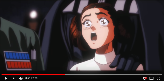 Amazing fan artist creates anime-style trailer for Star Wars, designs for Rocky, Terminator, more