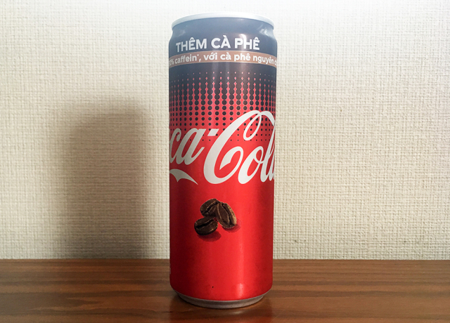 We got our hands on a can of coffee-flavored Coca-Cola from Vietnam and it busted our senses