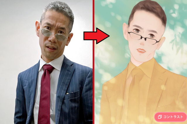 New photo app turns you, or Mr. Sato, into a sparklingly handsome shojo manga dreamboat【Photos】