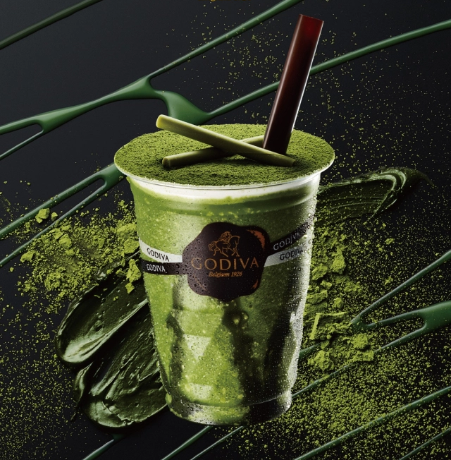 Godiva Japan's amazing new matcha dessert drink looks like a gift from the green tea gods