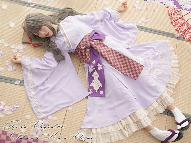 Add a Japanese anime twist to your Halloween costume with unisex kimono cosplay