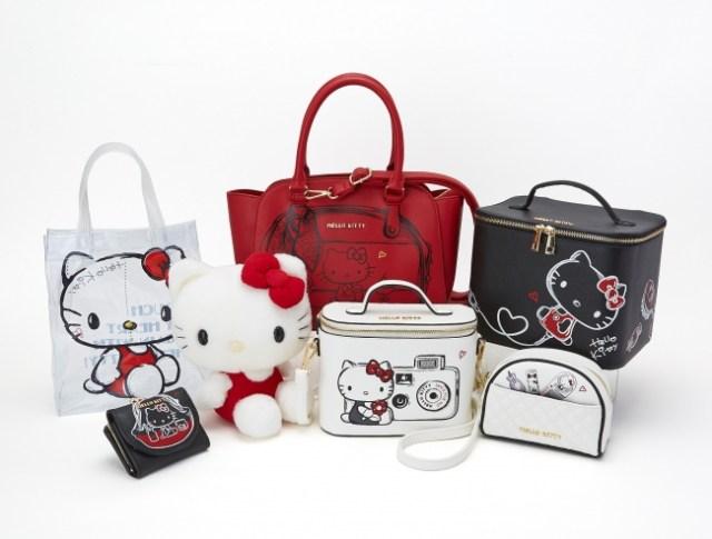 Hello Kitty's Retouch Design Series pumps up the 1970's nostalgia