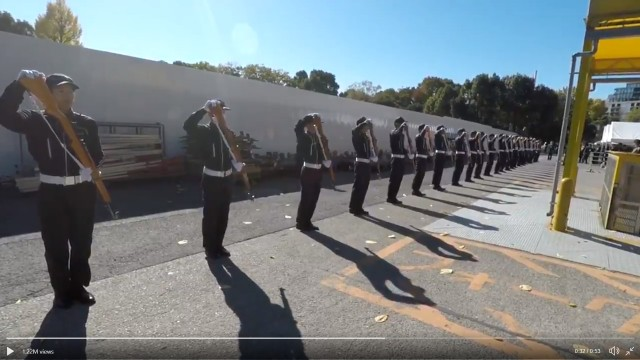 Silent drills by the Honor Guard at Japan's National Defense Academy impress and awe【Videos】