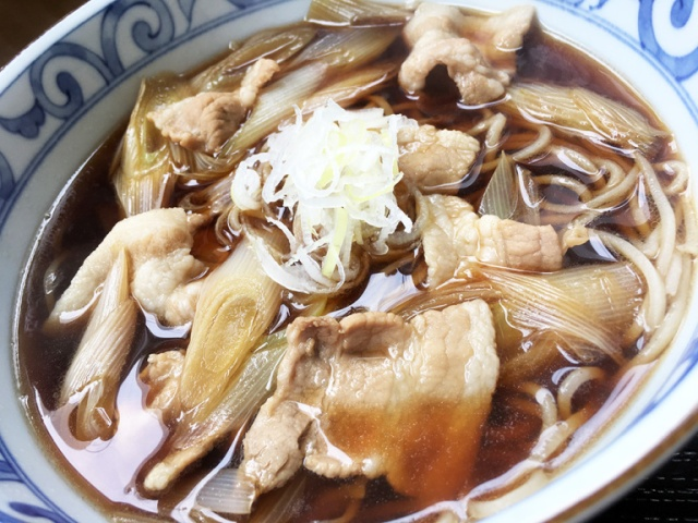 We eat at the legendary Negidon, a Tokyo soba restaurant that's only open for lunch on weekdays