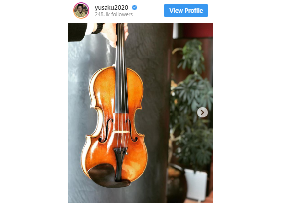 14th richest man in Japan buys one of the world's most pricey violins…to share with the world?