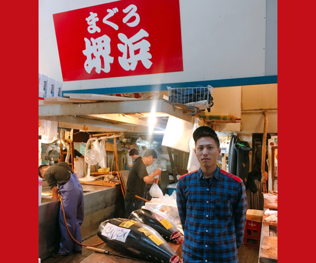 On our final visit to Tsukiji fish market, tuna merchant tells us his fears about its replacement