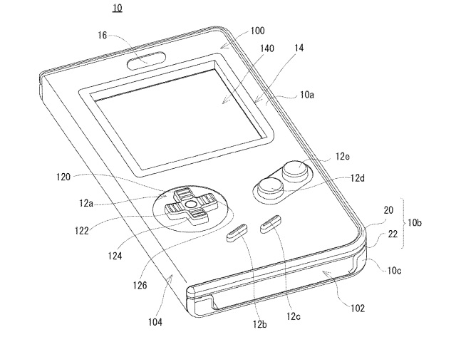 Nintendo goes retro and patents awesome smartphone case that looks exactly like a Game Boy