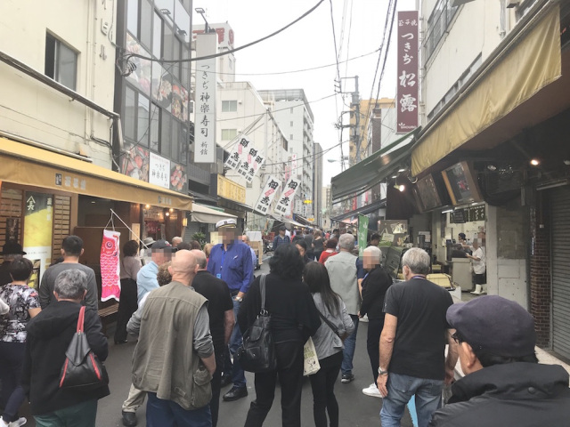 Restaurants, Roads, Rats: How has Tsukiji changed after the fish market move?