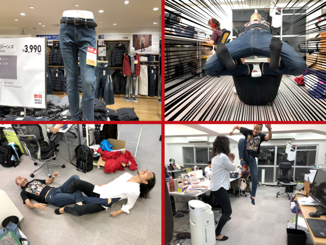 Can you fight an entire pro wrestling match in Uniqlo stretch jeans? We find out【Photos】