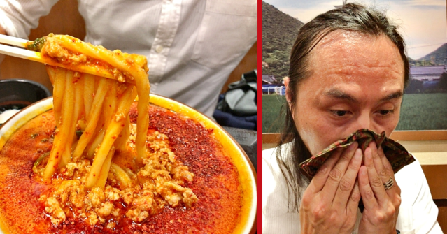 Taste-testing Tokyo's 100-times spicy, and sweatiest, udon noodles【Photos, video】