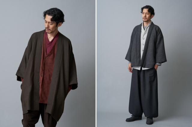 New line of modern samurai fashion for fall/winter will make you warm and cool