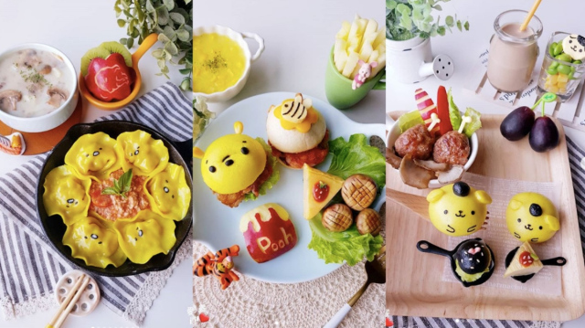 Taiwanese cook makes amazing replicas of Japanese characters out of food