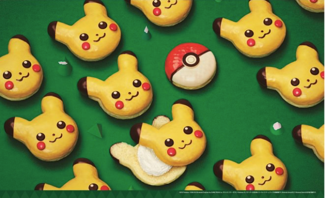 Mister Donut releases Pokémon doughnuts in Japan for a limited time