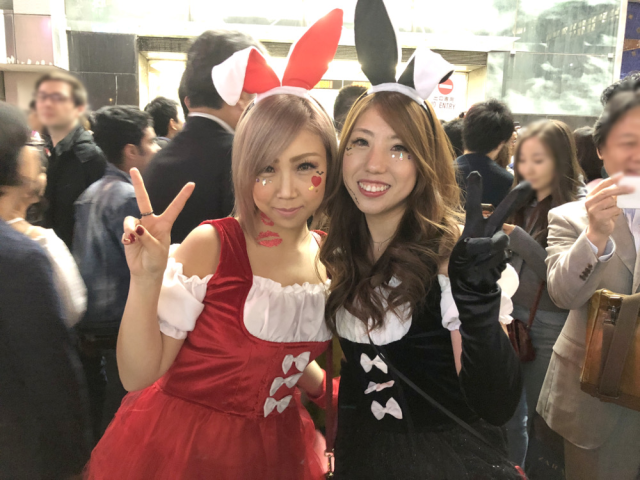 The beautiful cosplayers of Tokyo's Halloween night Shibuya street party【Photos】