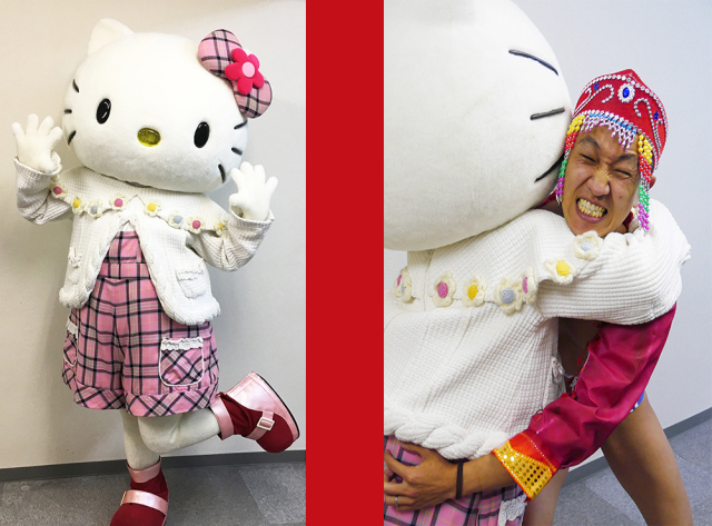 Hello Kitty visits SoraNews24 HQ! Traditional Mongolian wrestling starts four seconds later