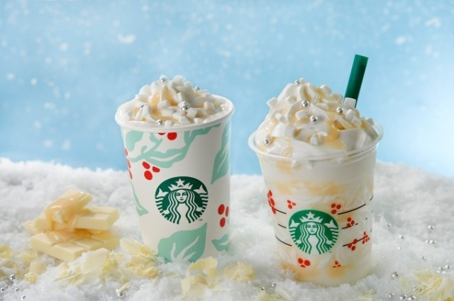 Starbucks Japan unveils new White Chocolate Snow Frappuccino for Christmas