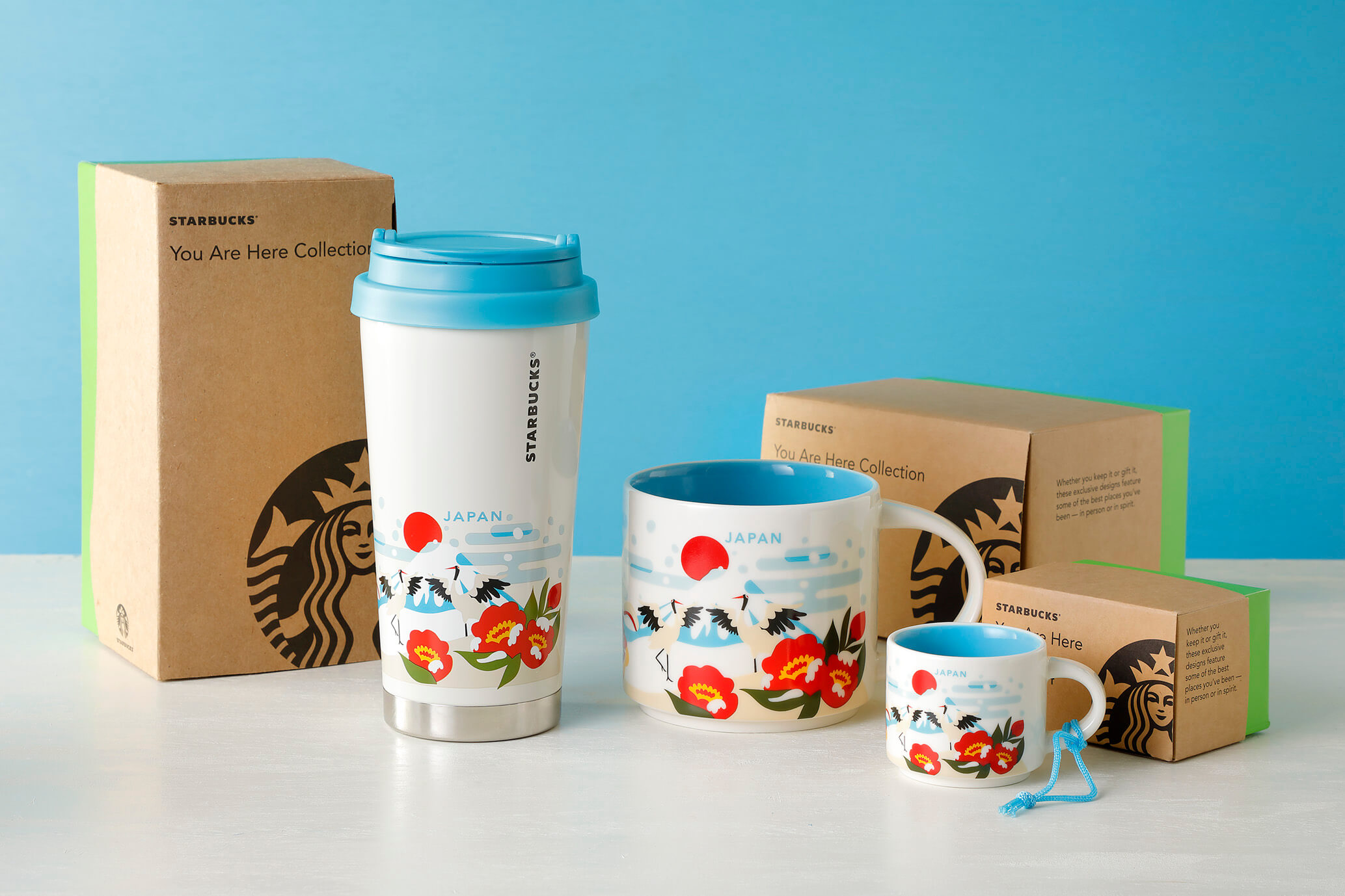 Starbucks Japan Adds New Winter Mt Fuji Mugs To Region Exclusive You Are Here Collection Soranews24 Japan News