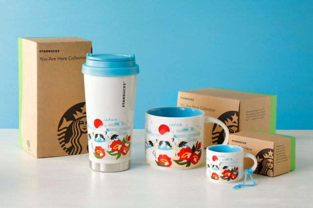 Starbucks Japan adds new winter Mt Fuji mugs to region-exclusive You Are Here Collection