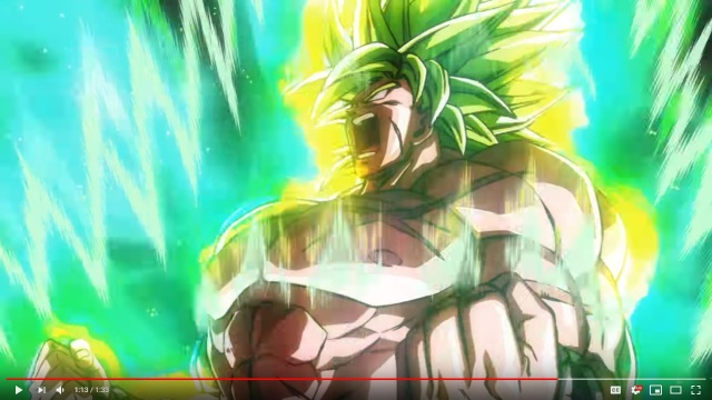 "Trailer for ""Dragon Ball Super: Broly"" promises a show filled with unforgettable turbocharged battles"