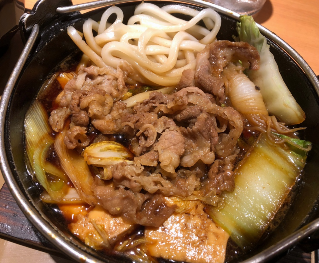 Fast food sukiyaki: One of the greatest things about autumn/winter in Japan!